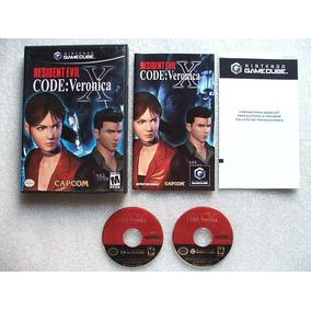 Game Cube: Resident Evil Code Veronica X Americano Completo!