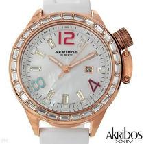 Akribos Xxiv Ak468rg Brand New Watch - S W I S S.