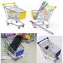 Porta Treco Mini Carrinho Compras Supermercado Menor Preço!