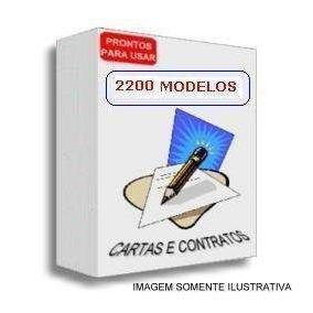 2.200 Modelos De Cartas E Contratos Comerciais!!!