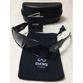 Óculos De Sol - Evoke Amplifier Black Shine/ Gray Degradê