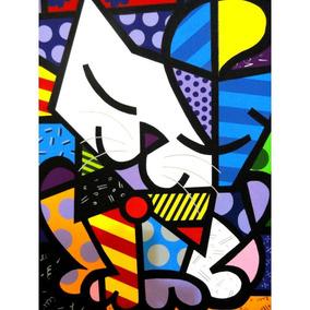 Tecido Romero Britto 100x140 Cm (modelo 20) 50,00