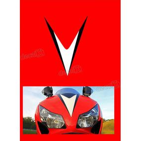 Emblema Adesivo Carenagem Frontal Honda Cbr 1000rr 2012