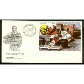 Fdc 465 - Ayrton Senna - Campeão Mundial Pilotos F1 - 1988