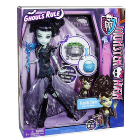 Boneca Mattel Monster High Frankie Stein Ghouls Rule