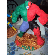 Figura De Resina Hulk Compound Marvel Legends.