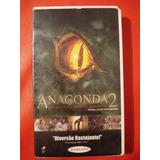 Anaconda 2 A Caçada Pela Orquidea Sangrenta Vhs