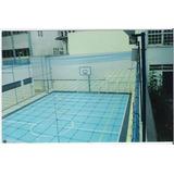 Rede De Proteção Lateral D Quadra Campo Futsal Volei Society