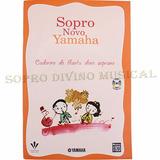 Método Com Cd Para Flauta Doce Soprano Sopro Novo Yamaha