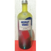 Botella De Absolut Vodka Unique. Edición Limitada Y Seriada!