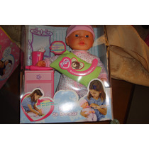 Muñecas De La Línea Jeidy Toys. Hablan Y Traen Accesorios