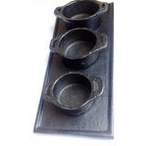 Chapa Miniatura De Ferro + Panelinhas