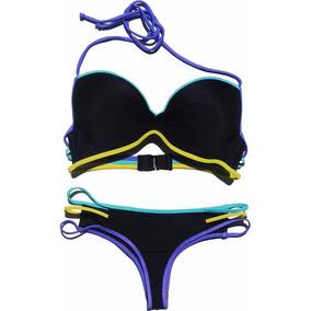 Malla Andressa - Bikini Soft Balconet Y Culotless C/tiras