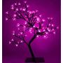 Luminaria Arvore Flores De Cerejeira 96 Leds Rosa Natal