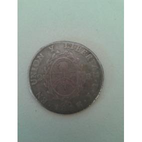 2 Reales Plata 1813 - Primera Moneda Con El Sello De La Patr