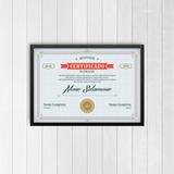 Modelos Certificados Diplomas Editáveis Psd
