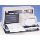 Máquina De Assinar Documentos, Modelo Companion 2000