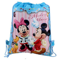 Sacola Sacolinha Porta Treco Saco Multiuso Mickey Minnie