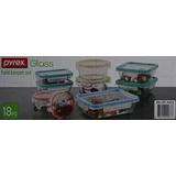Snapware: 18pc Solución Total Pyrex Glass Food Guardián Set