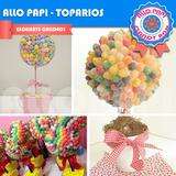 Arbolitos Toparios De Golosinas Centro De Mesa Candy Bar