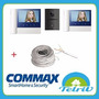 Kit Portero Visor Commax Con 2 Visores Cdv70n + Cable Grat!