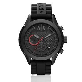 Relógio Masculino Armani Exchange Analógico Uax1212z Preto