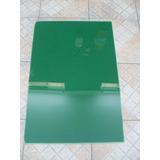 Placa Acrílica - Shell (casco De Tartaruga) - Verde