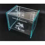 Urna Ou Caixa De Sugestão Em Acrílico Com Gravação À Laser