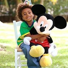 Mickey Grande Pelucia Da Disney Original - Pronta Entrega