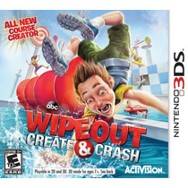 Wipeout Create And Crash Para 3ds ¡sólo En Gamers!