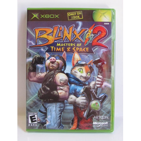 Blinx 2 Masters Of Time & Space - Game Xbox Original Lacrado