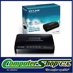 Modem Tp-link Adsl2 / Td-8616 / Banda Ancha / Internet