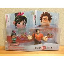 Disney Infinity Ralph El Demoledor Y Vanellope Pack