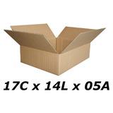 50 Caixas De Papelão 17 X 14 X 05 Tipo 1p Correio Pac Sedex.