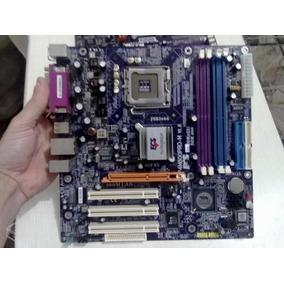 Ecs P4m800pro-m V1.0 Lga775 Via8237 Ddr2+ddr1 Agp8x 2xsatas