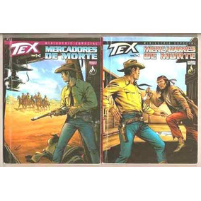 Tex - Minissérie - Mercadores Da Morte, N° 01 E 02 - Novos