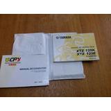 Manual Do Proprietario Da Yamaha Xtz 125 2003