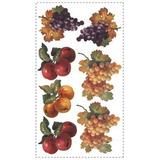 Adesivo Grande Parede Cartela Nº 1 Frutas Fruit Harvest