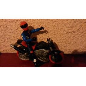 Action Man Con Moto