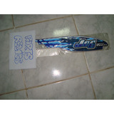 Adesivos Faixas Yamaha Jog 50cc Teen 2002 Azul