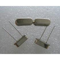Cristal Oscilador 7.6mhz 7,6mhz Para Transmissor Fm