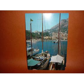 Cartão Postal Principado De Monaco .