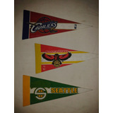 Banderines De Basketball Tipo Lakers Chicago Raptors Spurs