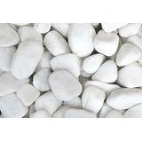 Pedras Brancas Para Jardim E Paisagismo 40kg - 10 Sacos