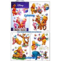 Wall Stickers Original Disney Winnie Pooh Calcomania Sticker
