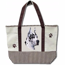 Bolsa De Manta Gran Danes Arlequin - Hermosa Tote Bag!