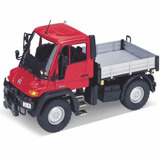 Auto De Colección Metal Mercedes Benz Unimog U400 1:24 Welly
