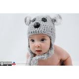 Koala Touca Crochê Fotografia Studio Foto