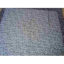 Echarpe Lenço Indiano Índia Quadrado Polyester Onça Preto