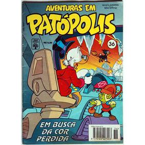 Aventuras Em Patópolis Nº 36 (ótimo+excelente- 8.0)